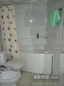 """Отель """"Лучёса"""". Номер Suite Double. Ванная комната"""