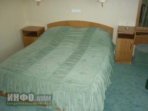 """Отель """"Лучёса"""". Номер Suite Double. Спальня"""