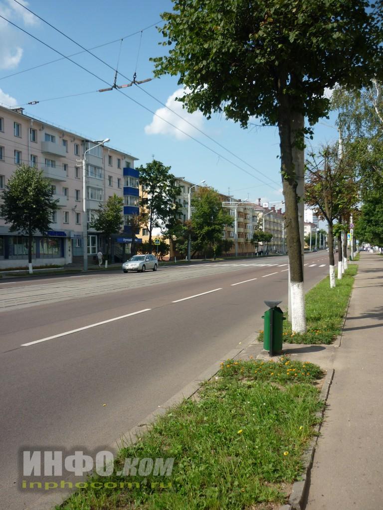 Улицы Витебска. Пр. Черняховского