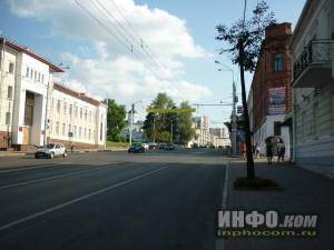 Улицы Витебска. Подходя к Площади Победы