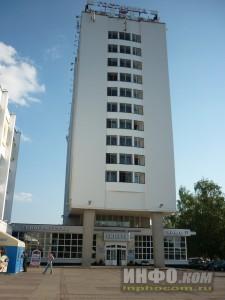 Улицы Витебска. Гостиница Витебск