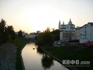 Улицы Витебска. Река Витьба
