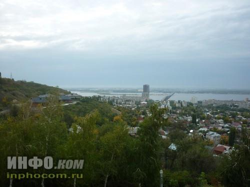 Панорама Саратова (смотровая площадка, Соколова гора), фото 1