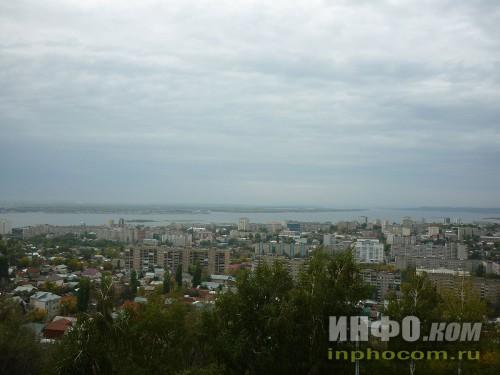 Панорама Саратова (смотровая площадка, Соколова гора), фото 2
