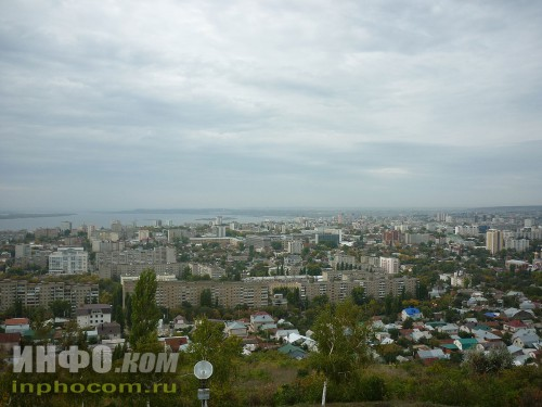 Панорама Саратова (смотровая площадка, Соколова гора), фото 3