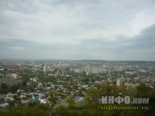 Панорама Саратова (смотровая площадка, Соколова гора), фото 4