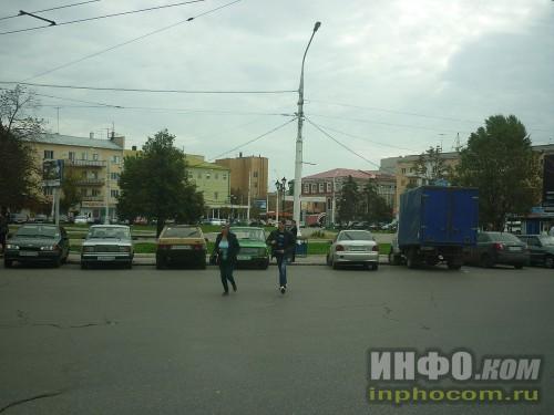 Привокзальная площадь Ж/Д вокзала г.Саратов
