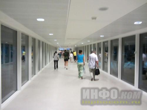 Гейт аэропорта Энфидха