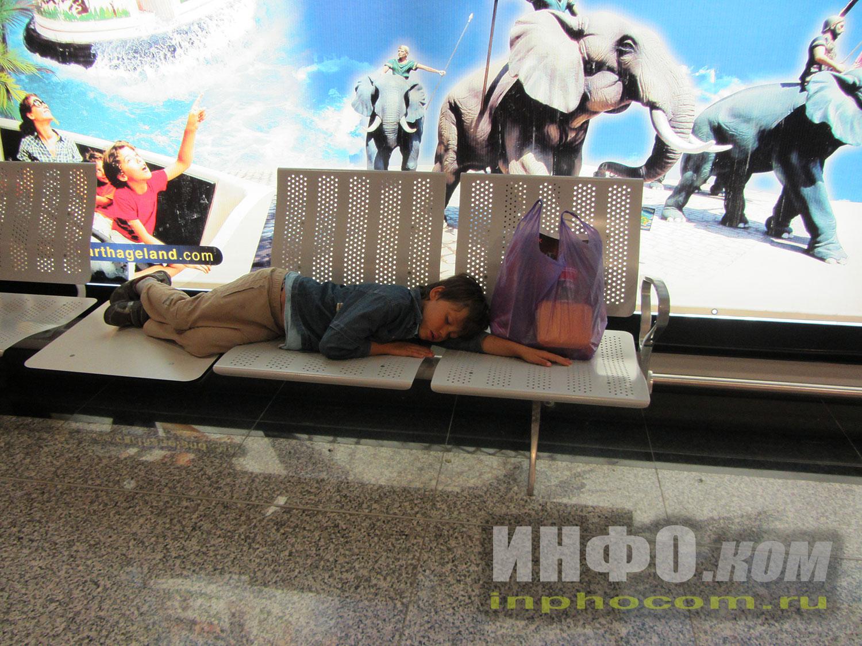 Уставший юный покоритель Туниса