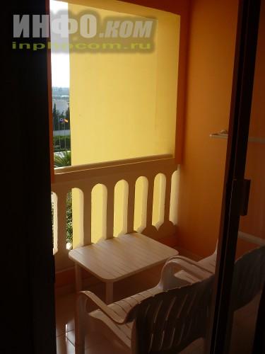 RIU Imperial Marhaba 5*, балкон номера standart