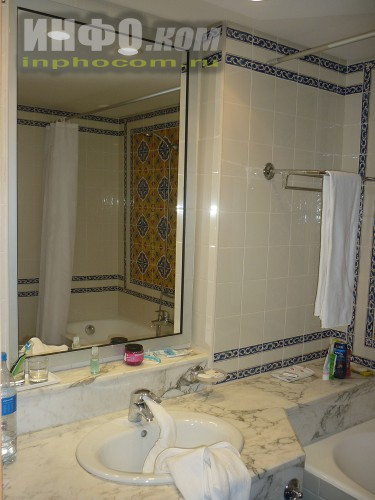 RIU Imperial Marhaba 5*, ванная комната номера standart