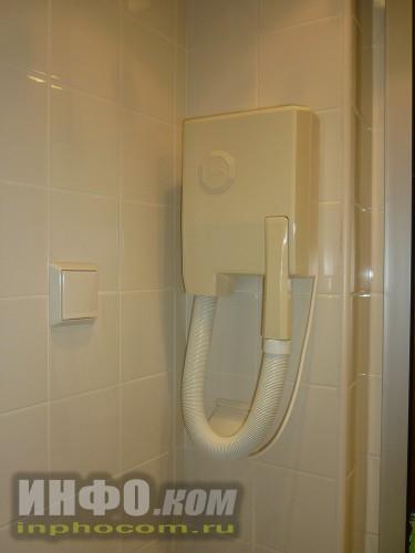 RIU Imperial Marhaba 5*, фен в ванной комнате в номере standart