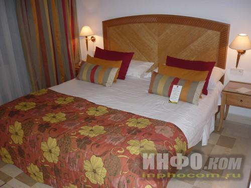 RIU Imperial Marhaba 5*, двуспальная кровать номера standart
