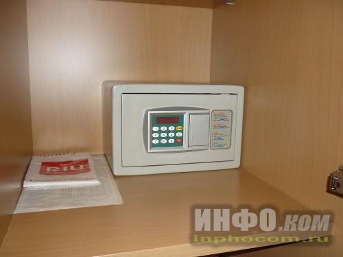 RIU Imperial Marhaba 5*, сейф в номере standart