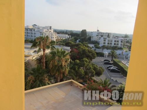 RIU Imperial Marhaba 5*, вид с балкона номера standart