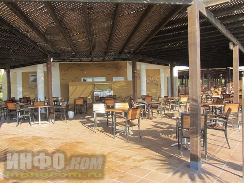 RIU Imperial Marhaba. Пляжный ресторан