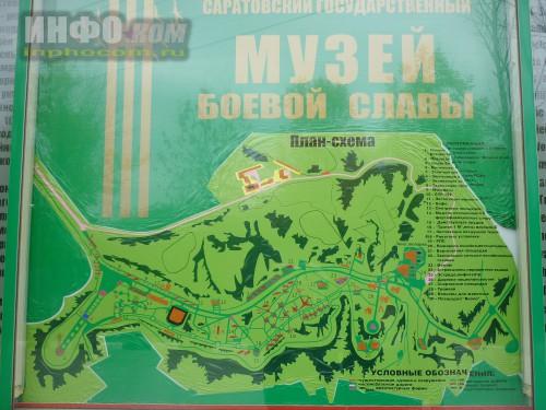 Саратов. Парк Победы. Карта