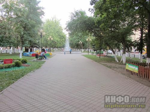 Электросталь. Аллея на проспекте Ленина (вид 1)