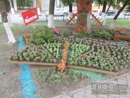 Электросталь, праздник цветов - 2014, даже с бабочкой)