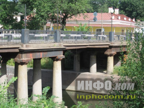 Шлиссельбург, мост через Староладожский канал