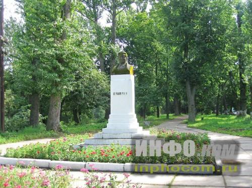 Шлиссельбург,  памятник С.М. Кирову