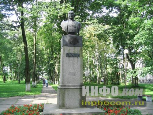 Шлиссельбург, памятник В.И. Ленину