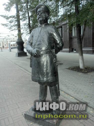 Челябинск. Кировка. Городовой.