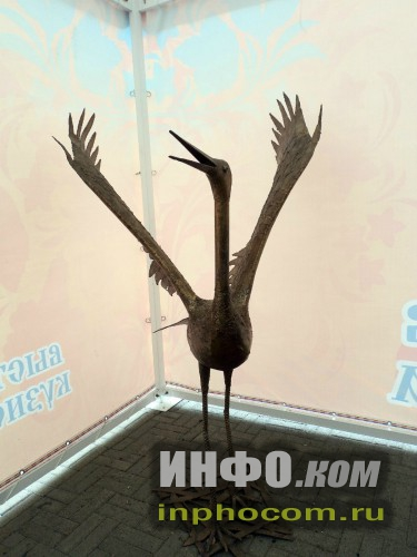 Челябинск. Выставка кузнечного искусства