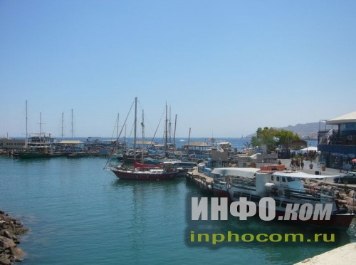 Израиль. Пристань на Красном море