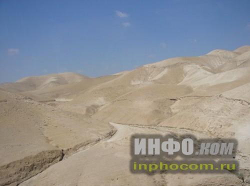Израиль. Песчаные барханы