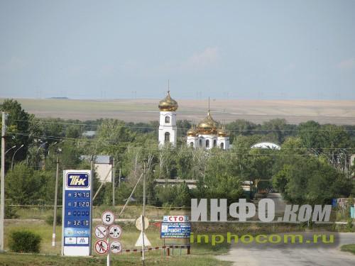 Вид на село Ивантеевка