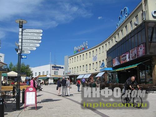 Пешеходная зона Иматры