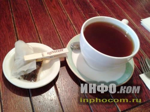 Кафе Компот, фирменный чай