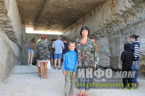 У входа в каменноломни