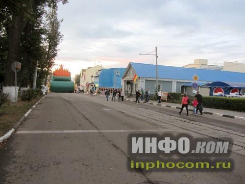 Перекрытые улицы Ногинска на день города