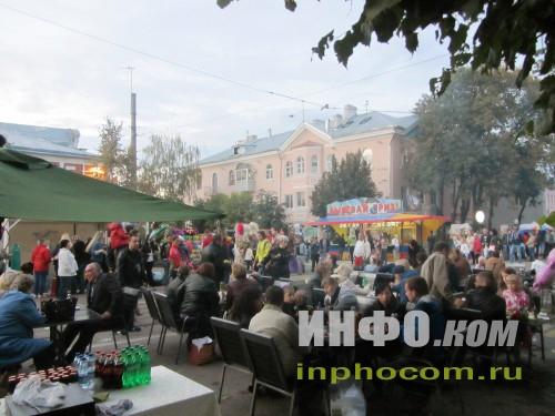 Что делают русские на празднике?