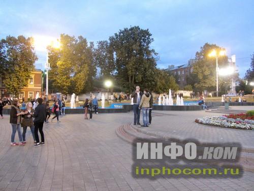 Ногинск. Центральная площадь