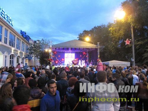 День города Ногинск: центральная площадка праздника