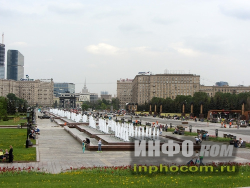 Парк Победы. Главная аллея