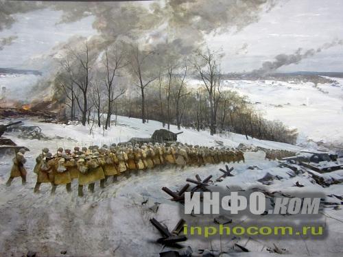 Диорама Контрнаступление советских войск под Москвой
